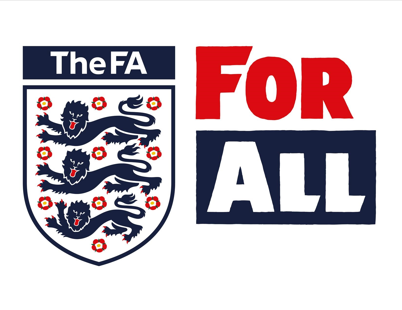 The FA For All logo